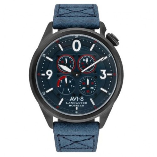 Montre H Avi8 Lancstr Bomber Sugar Blues
