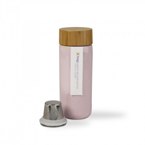 Bouteille rose TAG infusion