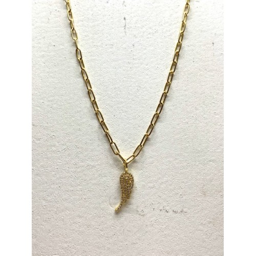 Collier Aile Or