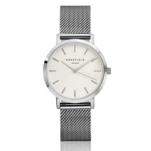 Montre The Tribeca argent de ROSEFIELD