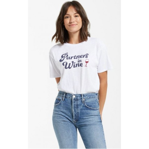 T-shirt ''Partners in wine''